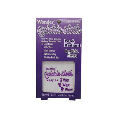 Wonder Products Quickie Cloth (Travel Carry Pouch Included)