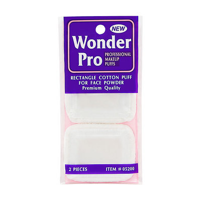 Wonder Products Wonder Pro Rectangle Cotton Puff For Face Powder