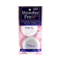Advanced Enterprises 5300 Wonder Pro Satin Back Puff 3 Ct.