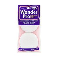Wonder Products Wonder Pro Double Sided Cotton Puff For Face Powder