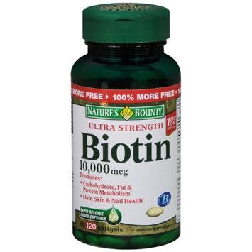 Nature's Bounty Ultra Strength Biotin 10