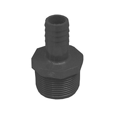 Genova 380447 3/4 By 1-1/4 Inch Poly Insert Male Reducing Adapter