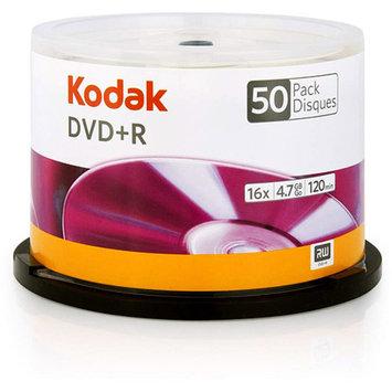 Kodak 16x Write-Once DVD+R - 50 pack