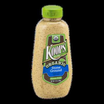 Koops' Mustard Organic Stone Ground