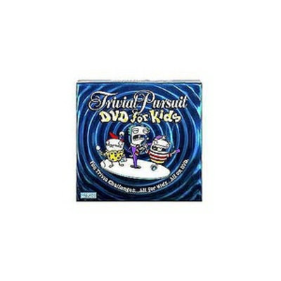 Trivial Pursuit Kids DVD Edition, 1 ea
