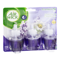 Air Wick Scented Oil Refill Lavender & Chamomile Fragrance - 3 CT