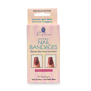 Calico Invisible Nail Bandages