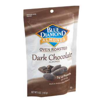 Blue Diamond Almonds Oven Roasted Dark Chocolate Almonds