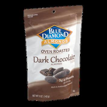 Blue Diamond Almonds Oven Roasted Dark Chocolate Almonds