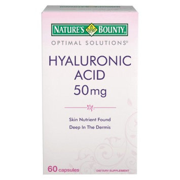 Nature's Bounty Optimal Solutions Hyaluronic Acid Dietary Supplement Capsules - 60
