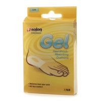 Solon Foot Solutions Gel Heel Shock-Absorbing Cusions
