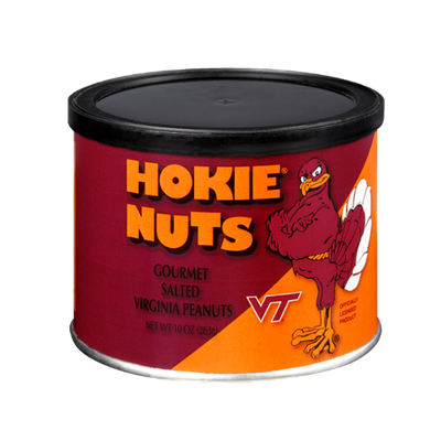 Hokie Nuts Gourmet Salted Virginia Peanuts