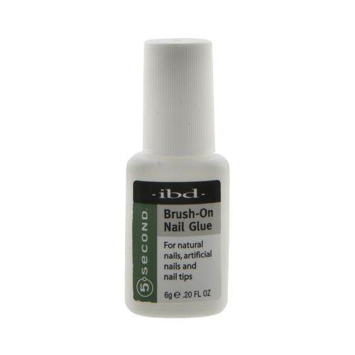 ibd 5 Second Brush-On Nail Glue 6g/0.2oz