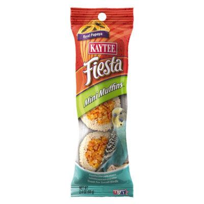 Kaytee KAYTEEA Fiesta Mini Muffins Small Bird Treats
