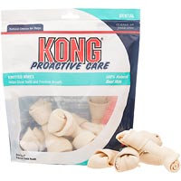 Kong Proactive Care Dental Knotted Bones: Small - 8 Pack