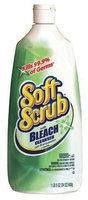 Soft Scrub Scouring Cleaners Liquid Cleanser w/Bleach, 24oz