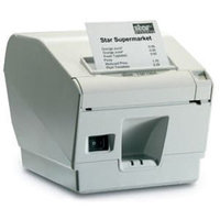 Star Micronics TSP743IIC Thermal Friction Parallel Printer - Putty w/