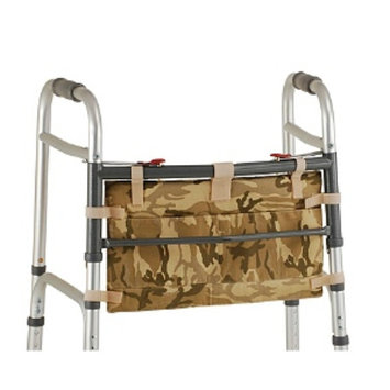 Nova Bag For Folding Walker, Camouflage, 1 ea
