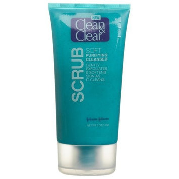 Clean & Clear® Scrub Soft Purifying Cleanser