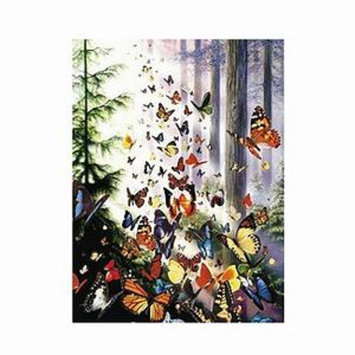 SunsOut Butterfly Woods 1000 Piece Jigsaw Puzzle Ages 12+, 1 ea