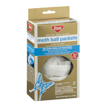 Enoz Moth Ball Packets Linen Scented