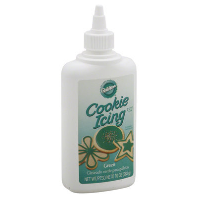 Wilton Icing, Cookie, Green, 10 oz (283 g)