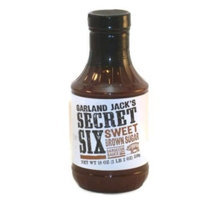Garland BBQ Company Garland Jack's Secret Six Sweet Brown Sugar BBQ Sauce 18 oz(Pack of 2)