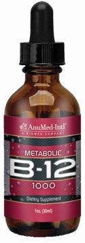 Vitamin B12 AnuMed Intl 1 oz Liquid