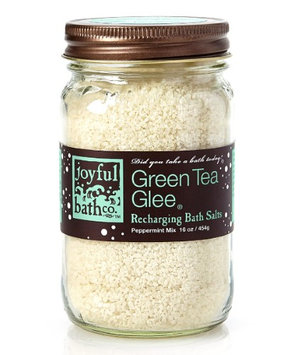 Joyful Bath Co - Bath Salts Recharging Green Tea Glee - 16 oz.