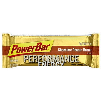 PowerBar Performance Chocolate Peanut Butter Flavor Energy Bars