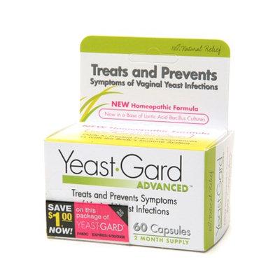 YeastGard Homeopathic Capsules