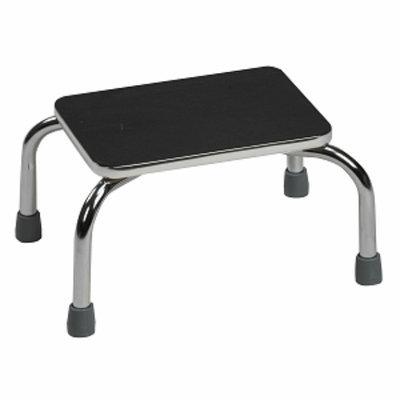 Duro-Med Foot Stool 10x14in Setup 2/Ctn, White, 1 ea