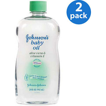 Johnson & Johnson Johnson's - Baby Oil Aloe Vera