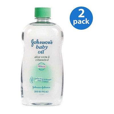 Johnson & Johnson Johnson's - Baby Oil Aloe Vera
