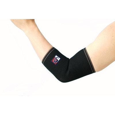 Phiten Aqua-Titanium Elbow Support, Black, M