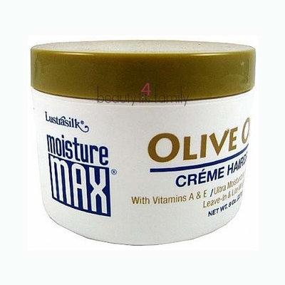 Lustrasilk Moisture Max Olive Oil Creme Hairdress 8.0 oz
