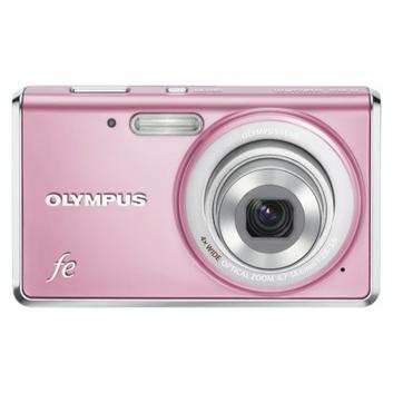 Olympus FE-4020 14MP Digital Camera with 4x Optical Zoom - Pink