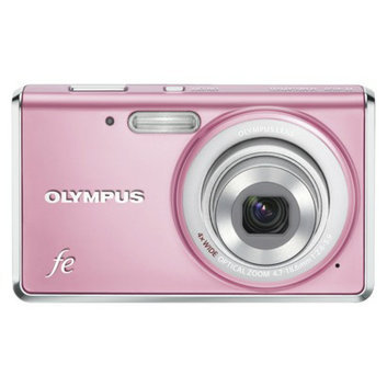 Olympus FE-4020 14MP Digital Camera with 4x Optical Zoom - Pink
