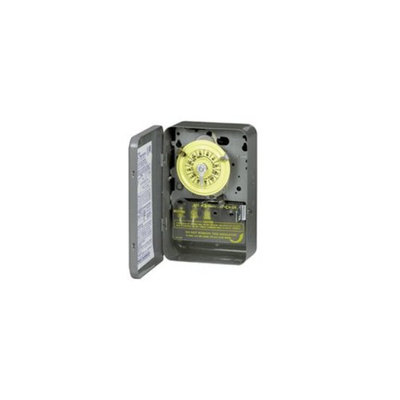 Intermatic Inc Intermatic T104 40 Amp 277V Indoor Mechanical Time Switch