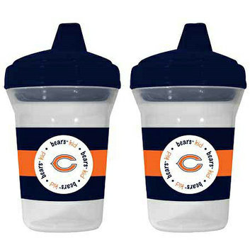 Baby Fanatic NFL Chicago Bears 2-Pack Sippy Cup