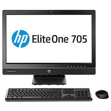 HP EliteOne 705 G1 All-In-One PC - AMD Dual-Core PRO-7350B 3.40GHz, 4GB DDR3 Memory, 500GB HDD, DVDRW, 23