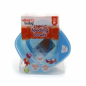 Vital Baby Baby's First Feeding Bowls