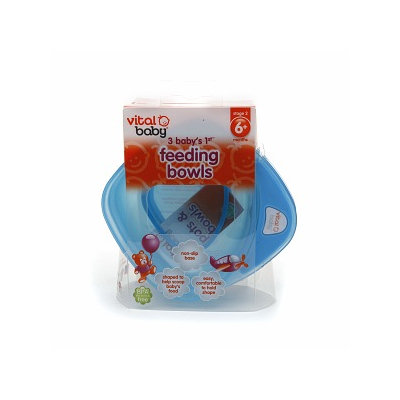 Vital Baby Baby's First Feeding Bowls