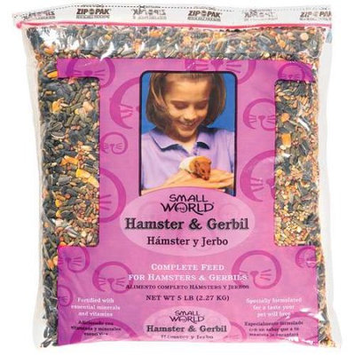 Generic Small World: Complete Feed Hamster & Gerbil, 5 lb