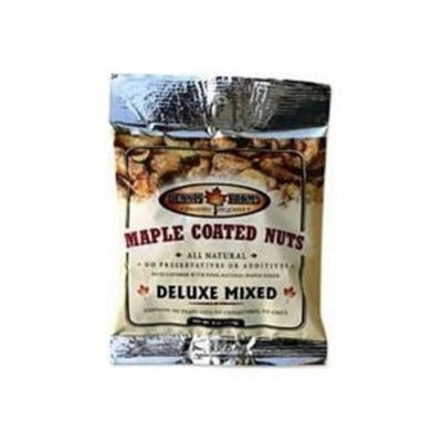 Dennis Farms Mixed Nuts, Maple Coated 4 OZ (Pack of 8) ( Value Bulk Multi-pack)