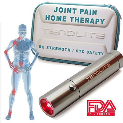 TenDlite® Advanced Joint Pain Relief TENDLITE® The World's #1 Red Light Therapy Anti-Inflammatory Therapy | MEDICAL GRADE Strength & Relief :: FREE Case :: Chosen By Sufferers of Shoulder, Knee, Elbow, Hands, Feet or Back Pain, Carpal Tunnel Syndrome, Arthritis, Bursitis, Tendonitis, Plantar Fasciitis, Sciatica, Fibromyalgia and Other Inflammation Related Ailments