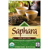 Celestial Seasonings® Saphara Gen Mai Cha, 15 Count 1.2 Ounce Boxes (Pack of 6)