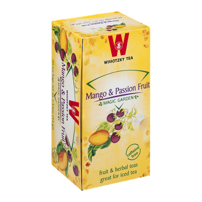 Wissotzky Tea Bags Magic Garden Mango & Passion Fruit - 20 CT