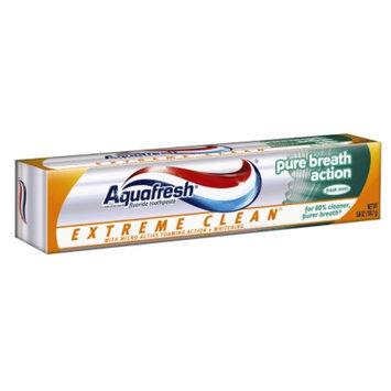 Aquafresh Extreme Clean Pure Breath Action Fluoride Toothpaste