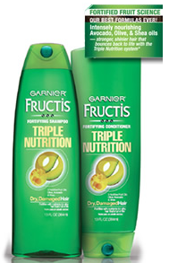 Garnier Fructis Triple Nutrition Shampoo & Conditioner